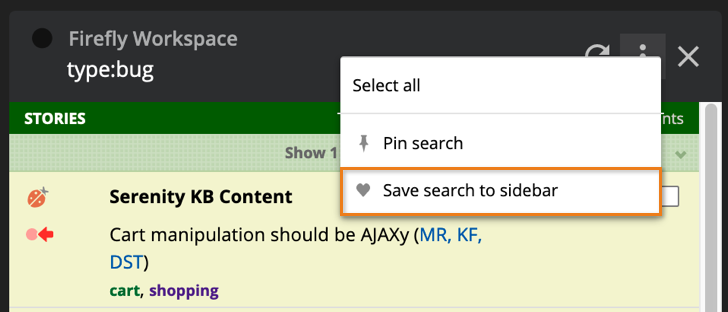 You can now save searches in Workspaces! blog post featured image