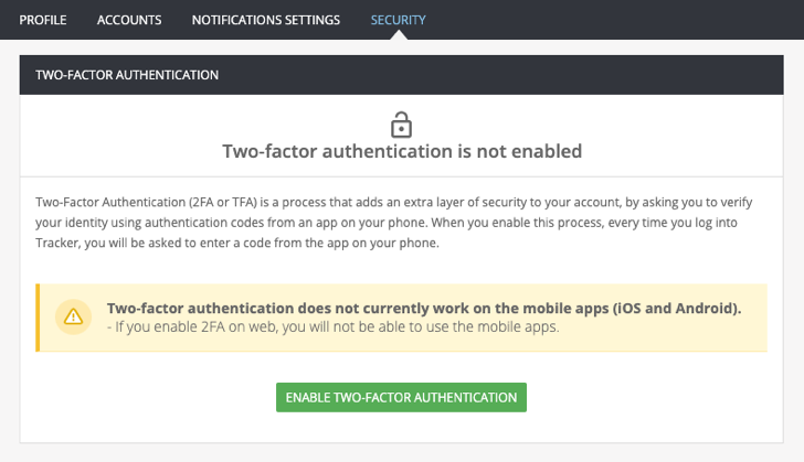 Enjoy more security with Two-factor authentication! blog post featured image
